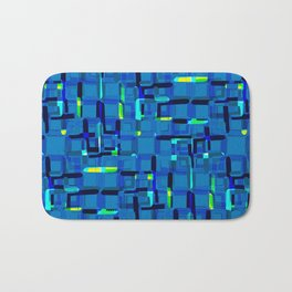 Urban blue Bath Mat