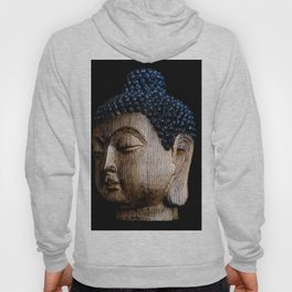 A Buddhist Statue in a Zen Moment with black background Hoody