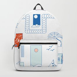 Casa de playa Backpack