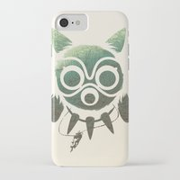 mononoke iPhone & iPod Cases featuring Mononoke by Kiana