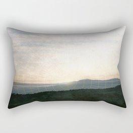Italy Mountain Rectangular Pillow