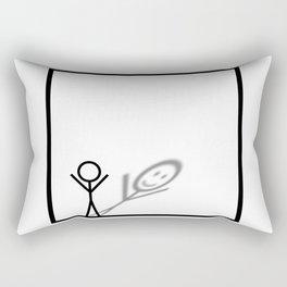 Stickman Rectangular Pillow