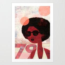AFRO 79 Art Print