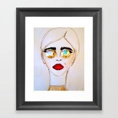 Gem Shades Framed Art Print