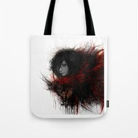 snk Tote Bags featuring Ackerman  by ururuty