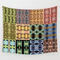 zodiac Wall Tapestries featuring Zodiac Patterns by ERINN CALLA LYONS