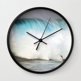 Wave Series Photograph No. 31 - Big Blue Wall Clock