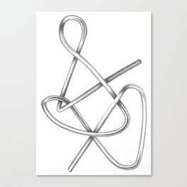 Paperclip #2 Canvas Print