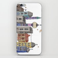 europe iPhone & iPod Skins featuring Exploring Europe by Maxine Hughes