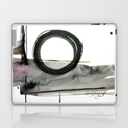 Enso Abstraction No. 112 by Kathy morton Stanion Laptop & iPad Skin