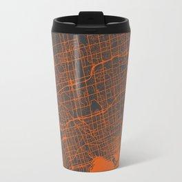 Toronto Map Travel Mug
