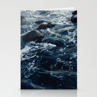 salt water Stationery Cards featuring Salt Water Study by Teal Thomsen Photography
