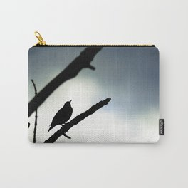 Silhouetted Singer Carry-All Pouch