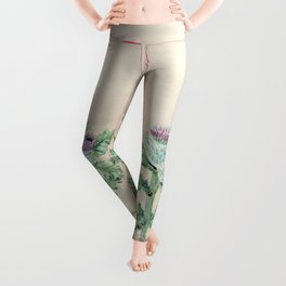 Downy thistle Leggings