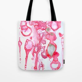 Cellular Sparkle Tote Bag