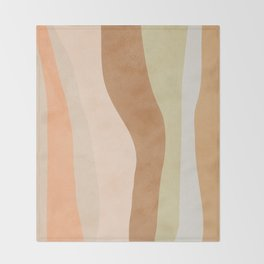 Soft Flow Throw Blanket