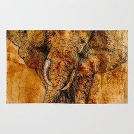 Elephant never forgets Rug