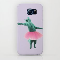 ballerina Cat Slim Case Galaxy S6