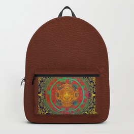 Aztec Sun God Backpack
