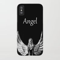 angel wings iPhone & iPod Cases featuring Angel Wings by Shaunia McKenzie