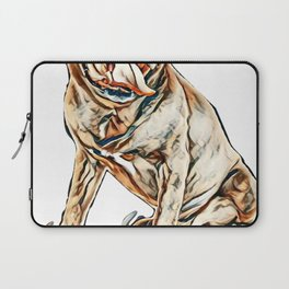 cane corso in front of white background        - Image Laptop Sleeve