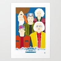 2015 (Faces & Movies) Art Print