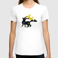 umbreon T-shirts featuring Umbreon with moon by Criminal Crow