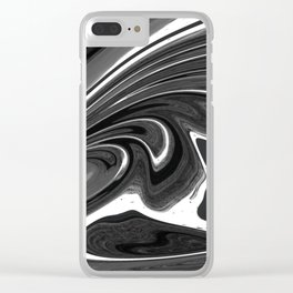 Noir Nightmare Clear iPhone Case