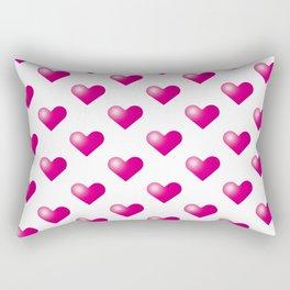 Hearts_E04 Rectangular Pillow