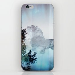 Boreal Lights on the Mountains iPhone Skin