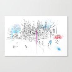 Soho London Canvas Print