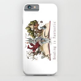 Reading is Fantastic iPhone Case