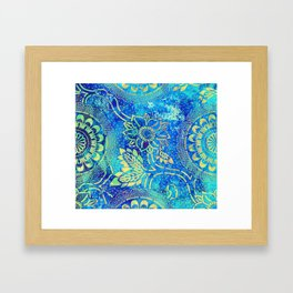 Boheme Lagon Framed Art Print