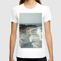 rowing T-shirts featuring Torquay Heads - Rowing Regatta - Australia by Chris' Landscape Images & Designs