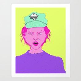 new orleans cap Art Print