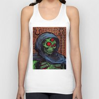 occult Tank Tops featuring Occult Macabre by Chris Moet
