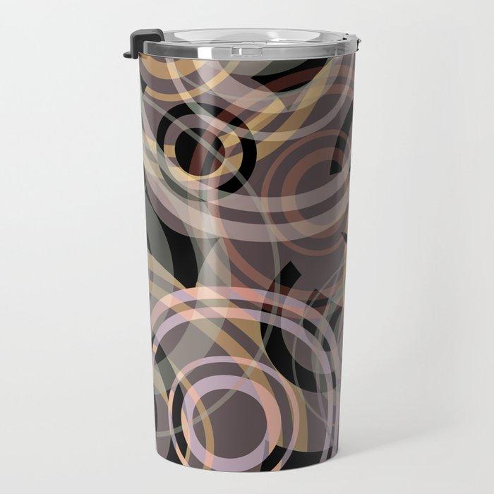 PATTERN-8 [gentle circles] Travel Mug