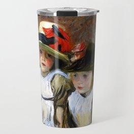 "John Singer Sargent ""The Village Children"" Travel Mug"