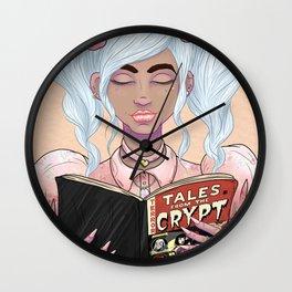 Girls read comics too, Crypt Wall Clock