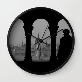 View of Parliament. Wall Clock