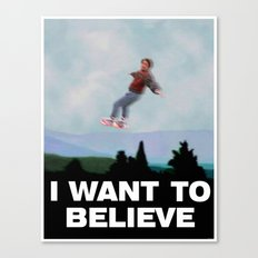 I Want to Believe in this Future Canvas Print
