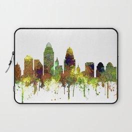 Cincinnati, Ohio Skyline SG- Safari Buff Laptop Sleeve
