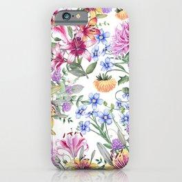 FLORAL WATERCOLOR 10 iPhone Case