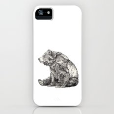 Bear // Graphite iPhone (5, 5s) Slim Case