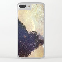 Nile Delta Clear iPhone Case