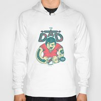 dad Hoodies featuring THE DAD by andbloom