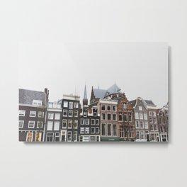 Rooftops of Amsterdam Metal Print