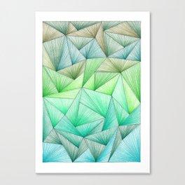 Divergence 2 Canvas Print