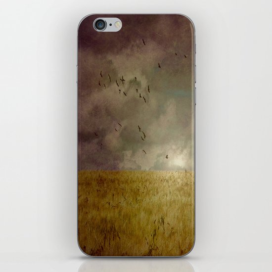 When we walked in fields of gold iPhone & iPod Skin