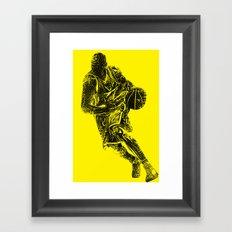 playmaker  Framed Art Print